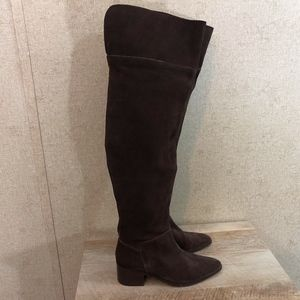 ASOS King Fisher Thigh High Suede Boots